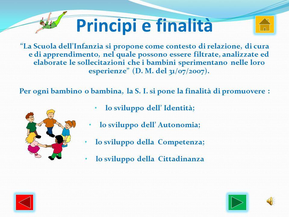 Principi e finalità