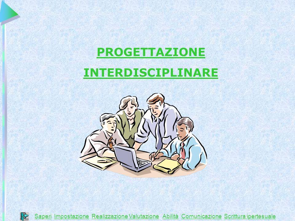 PROGETTAZIONE INTERDISCIPLINARE