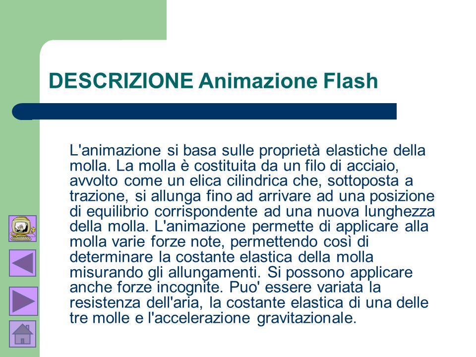 DESCRIZIONE Animazione Flash