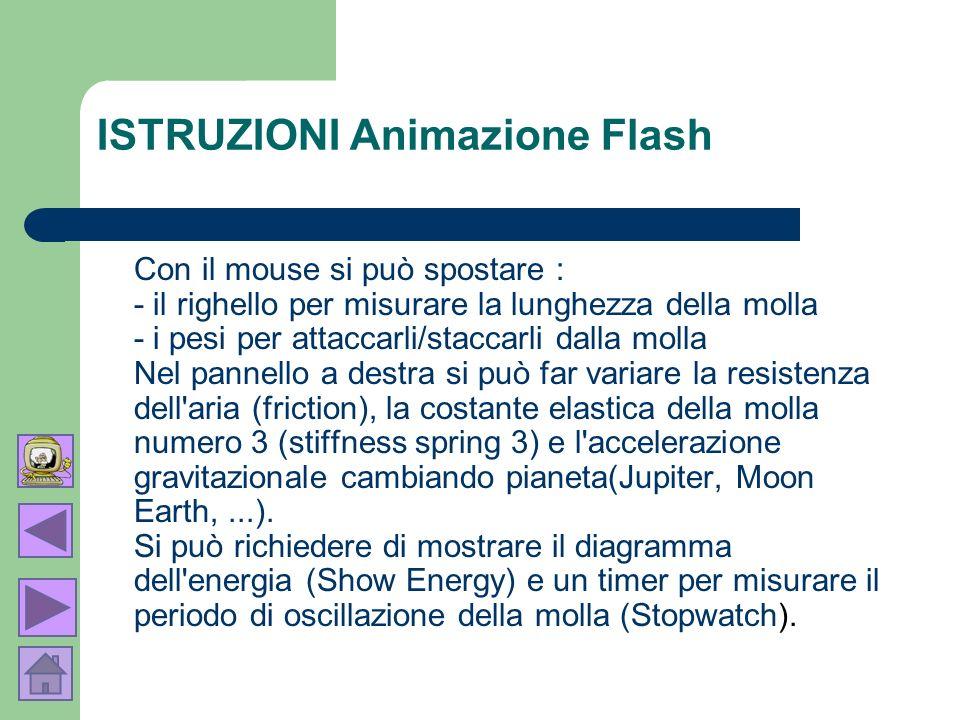 ISTRUZIONI Animazione Flash