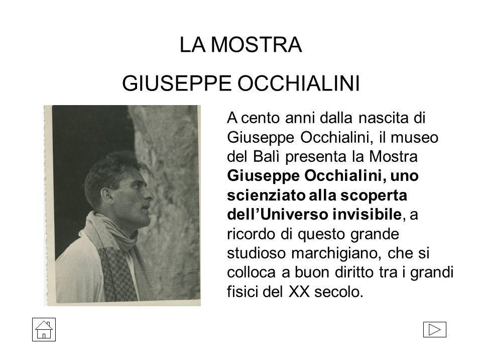 LA MOSTRA GIUSEPPE OCCHIALINI