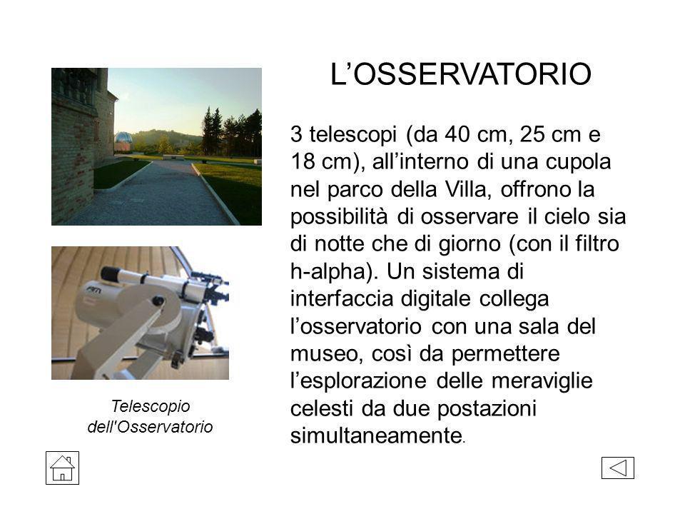 Telescopio dell Osservatorio