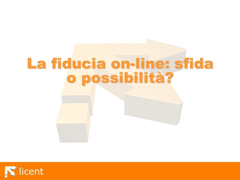La fiducia on-line: sfida o possibilità