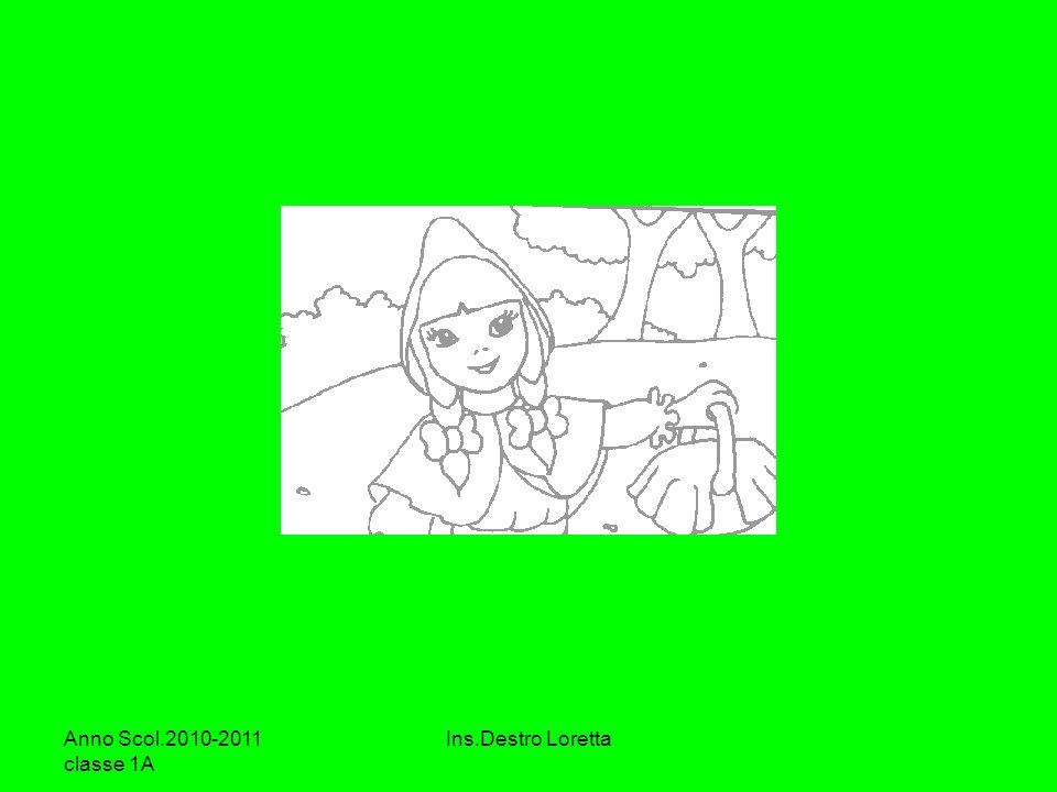 Anno Scol.2010-2011 classe 1A Ins.Destro Loretta