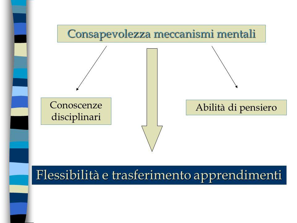 Flessibilità e trasferimento apprendimenti