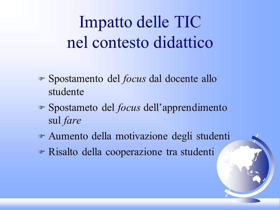 Impatto delle TIC nel contesto didattico