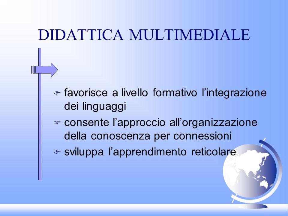 DIDATTICA MULTIMEDIALE