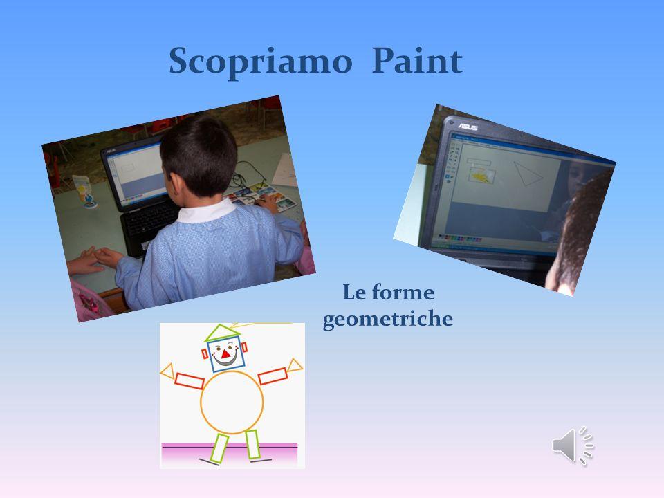 Scopriamo Paint Le forme geometriche