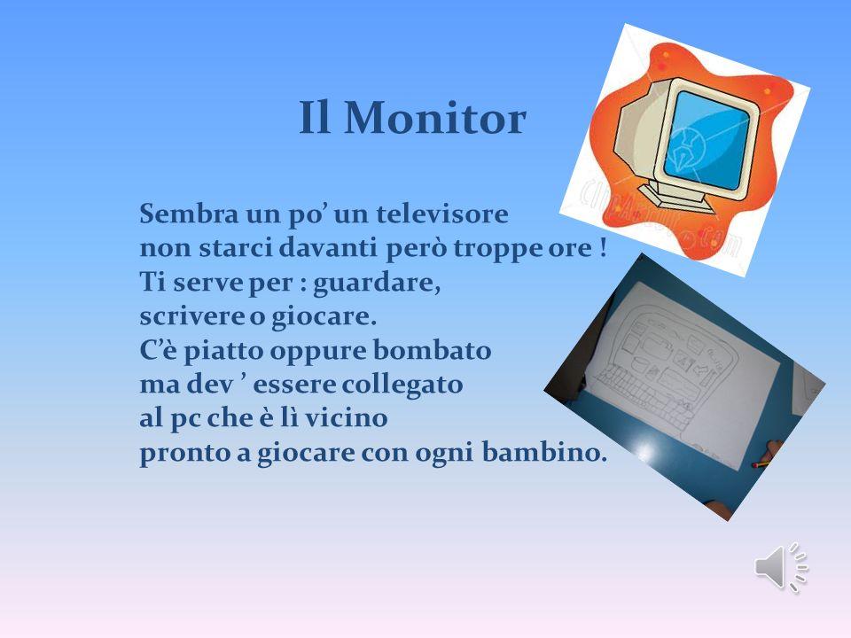 Il Monitor Sembra un po' un televisore