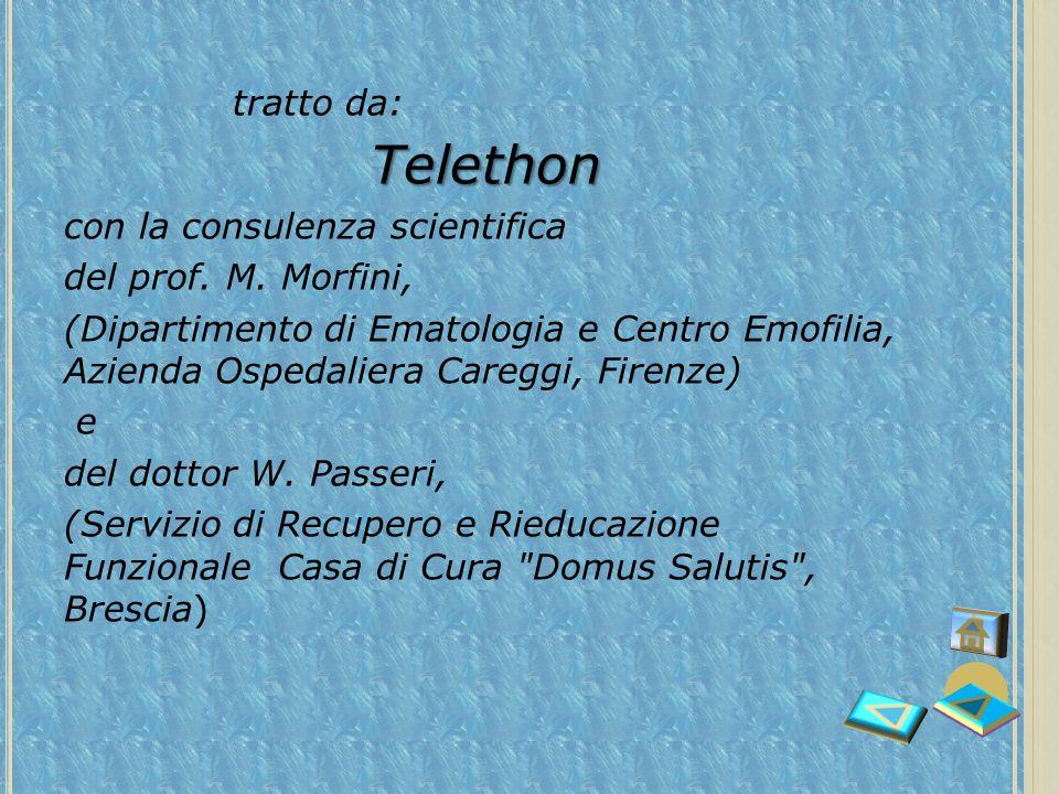 Telethon tratto da: con la consulenza scientifica