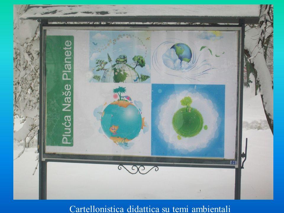 Cartellonistica didattica su temi ambientali