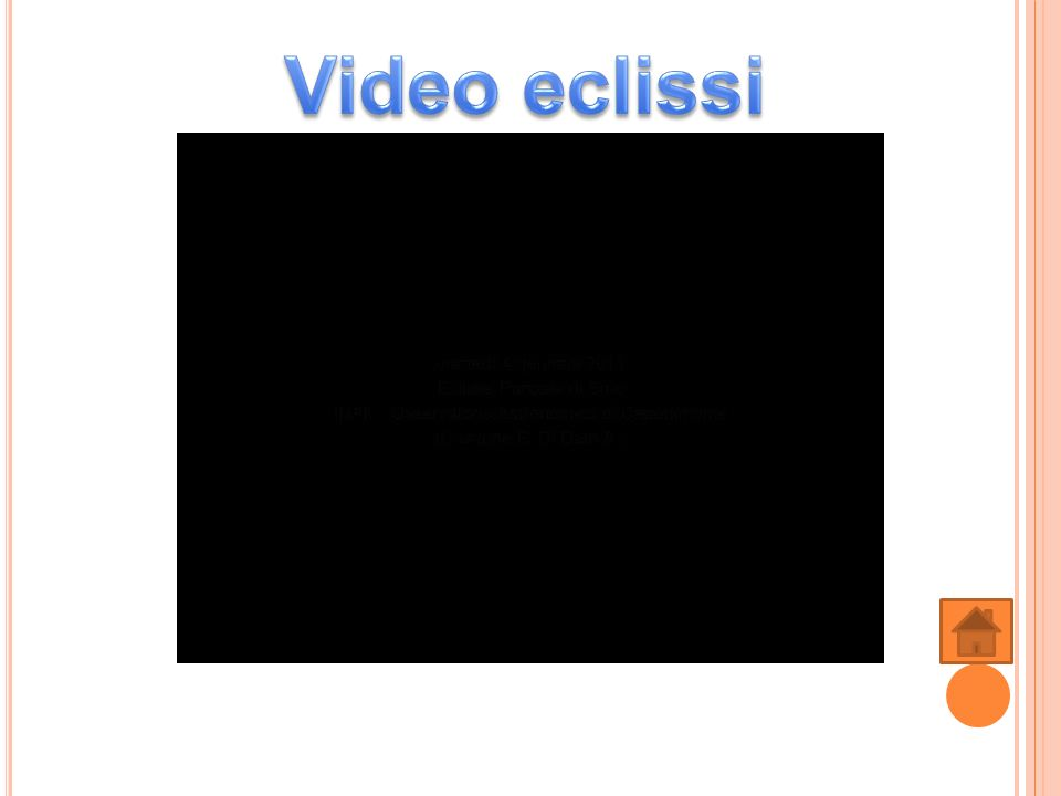 Video eclissi