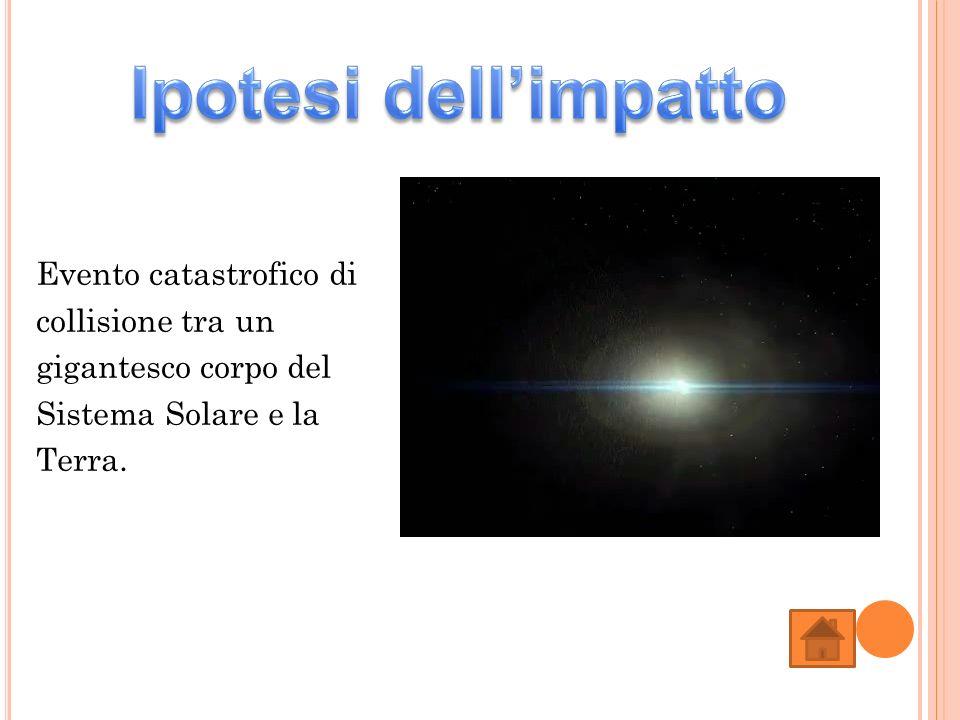 Ipotesi dell'impatto Evento catastrofico di collisione tra un gigantesco corpo del Sistema Solare e la Terra.