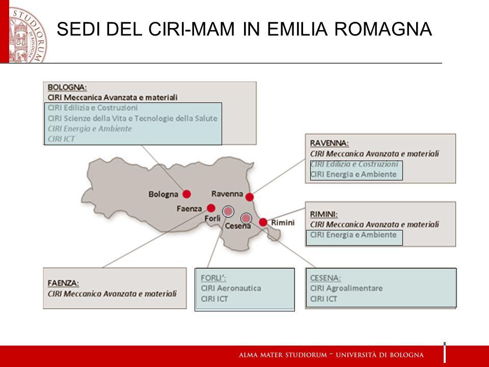 SEDI DEL CIRI-MAM IN EMILIA ROMAGNA