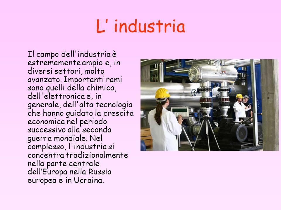 L' industria