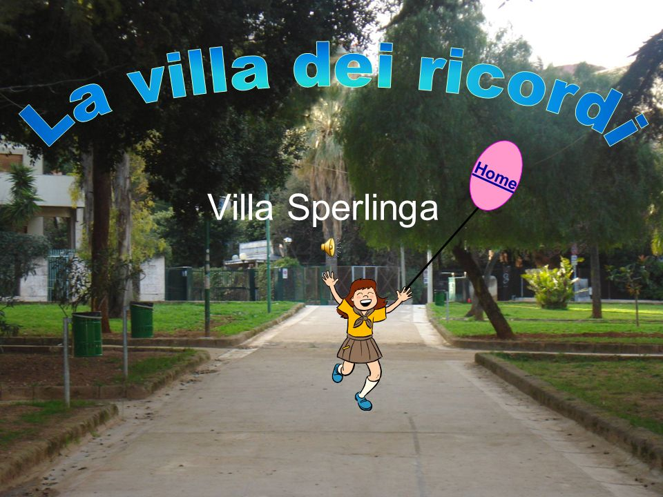 La villa dei ricordi Home Villa Sperlinga