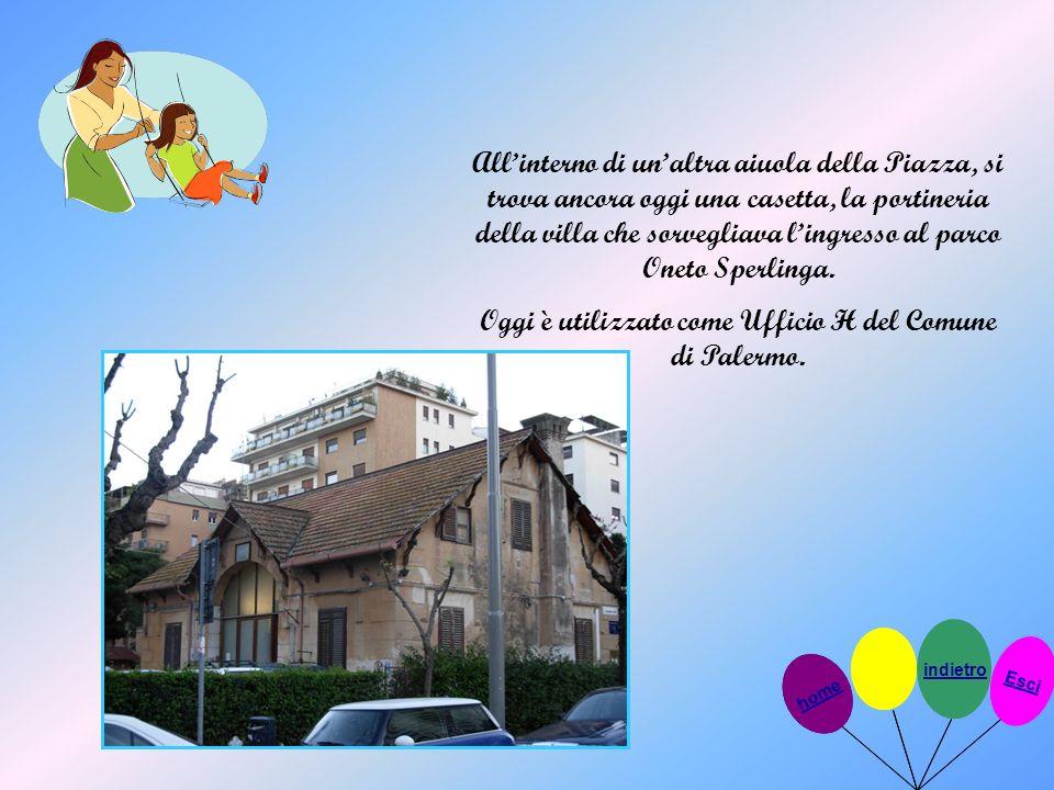 Oggi è utilizzato come Ufficio H del Comune di Palermo.