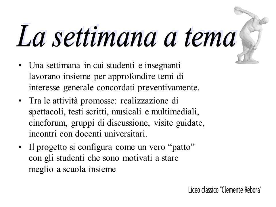 Liceo classico Clemente Rebora