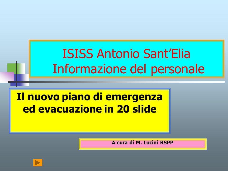 ISISS Antonio Sant'Elia Informazione del personale