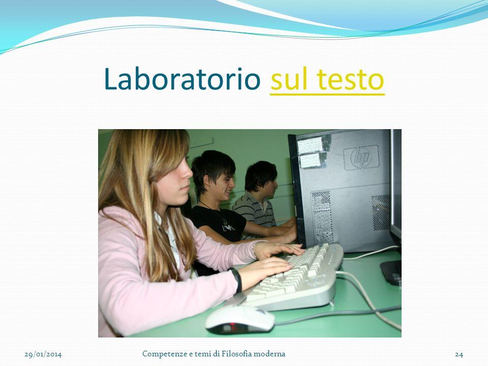 Laboratorio sul testo 27/03/2017