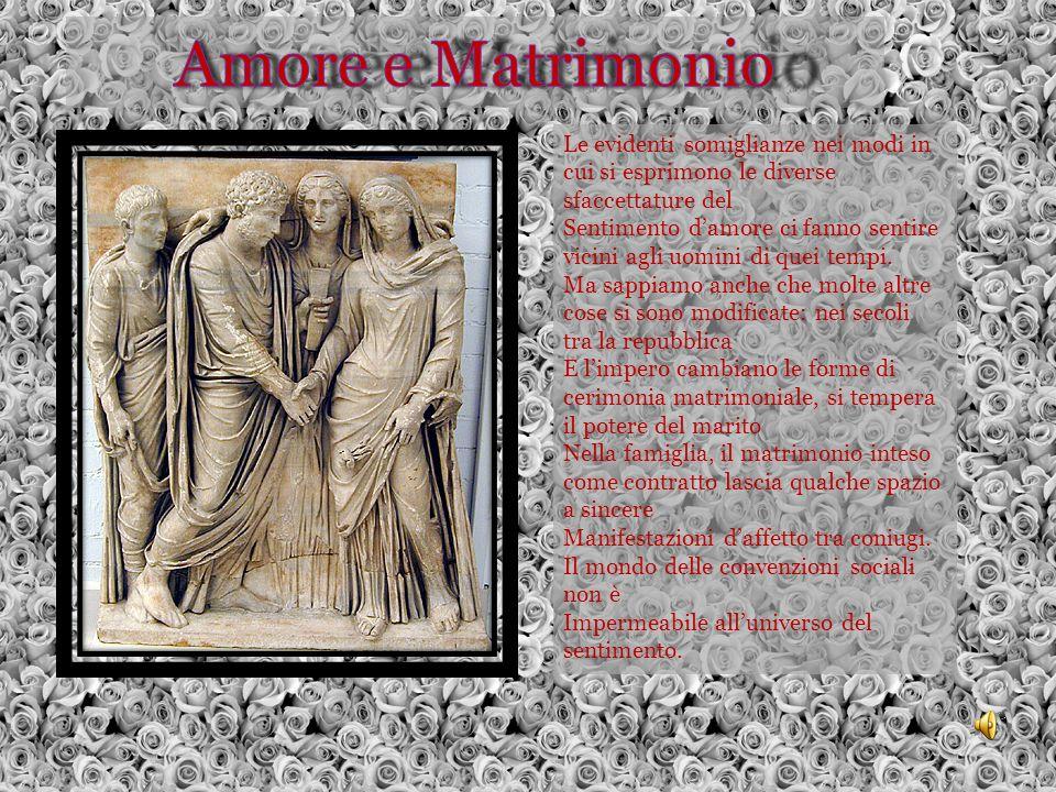 Amore e Matrimonio Le evidenti somiglianze nei modi in cui si esprimono le diverse sfaccettature del.