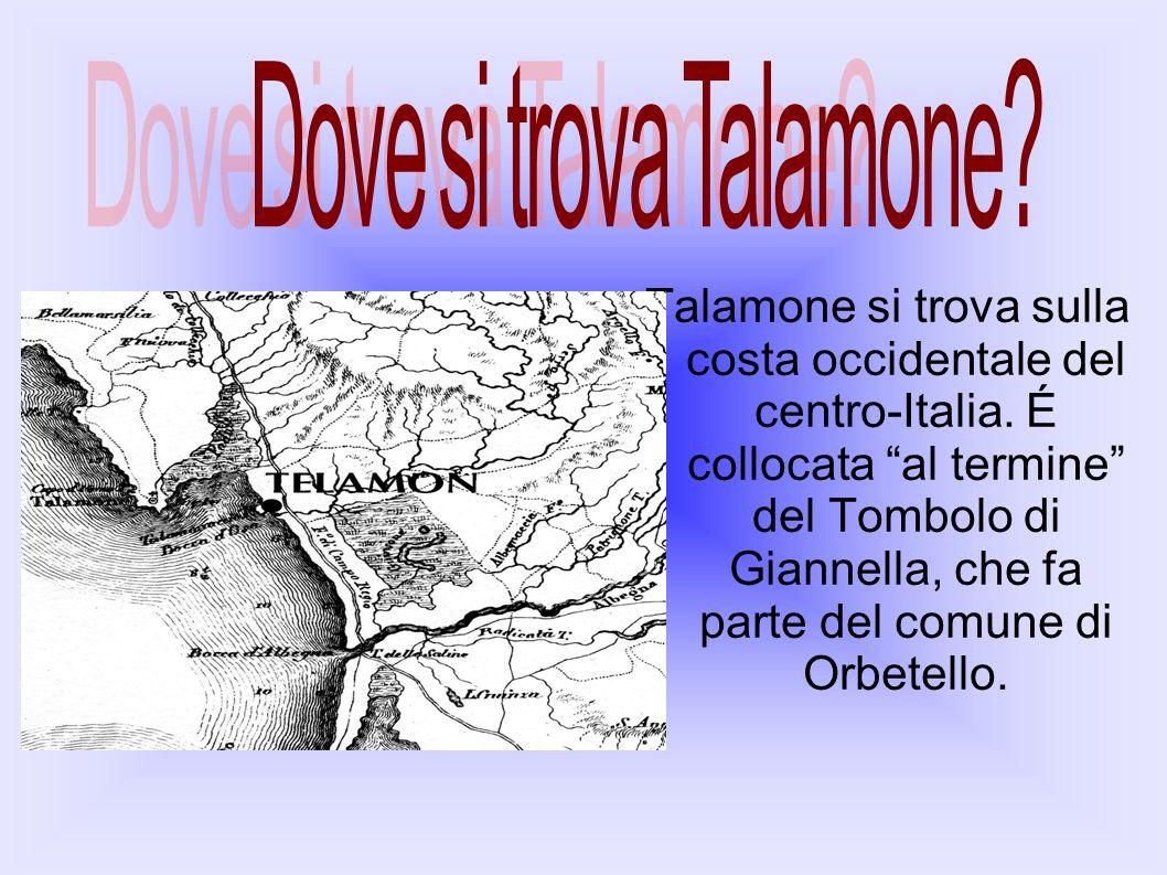 Dove si trova Talamone
