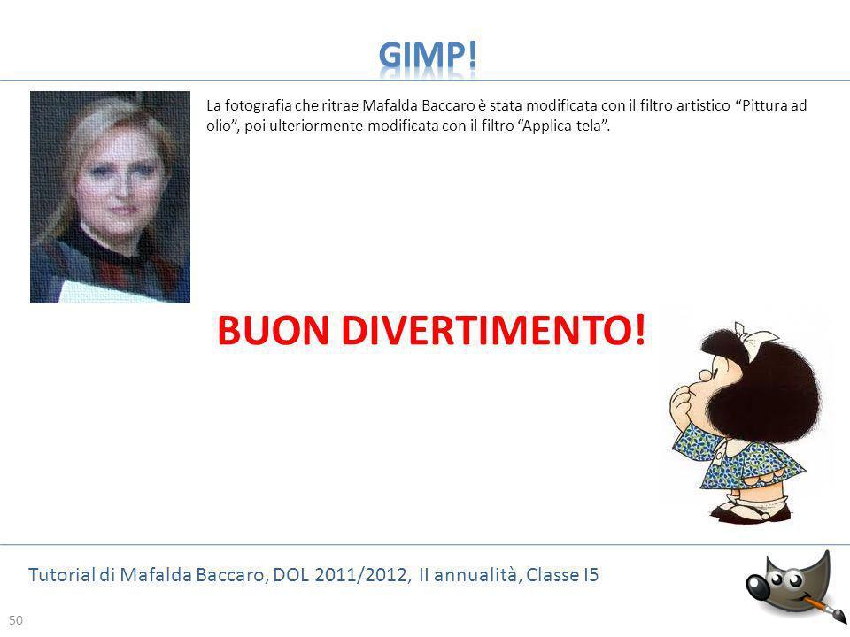 BUON DIVERTIMENTO! GIMP!
