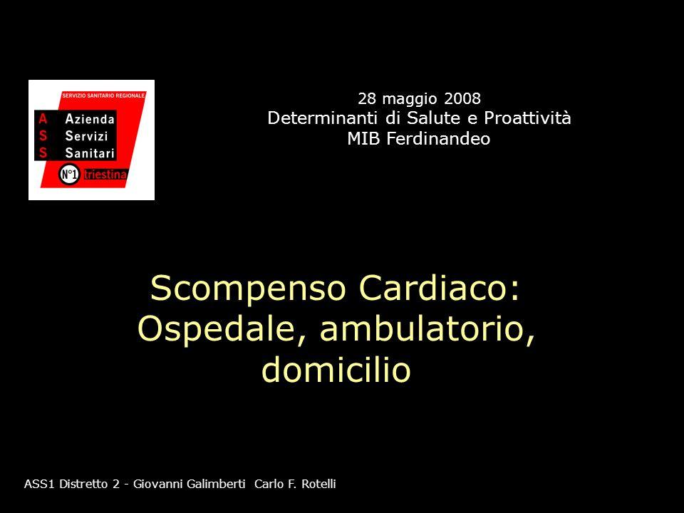 Scompenso Cardiaco: Ospedale, ambulatorio, domicilio