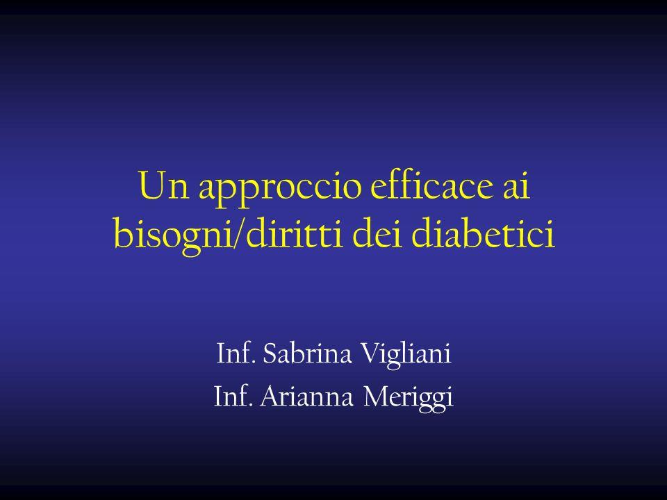 Un approccio efficace ai bisogni/diritti dei diabetici