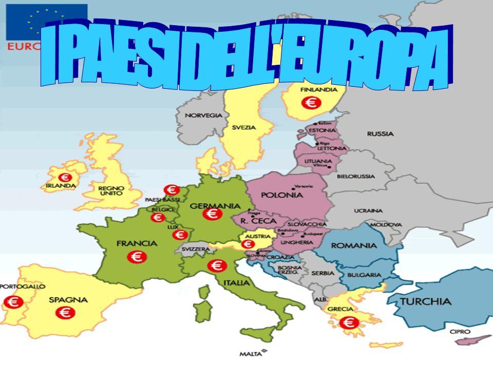 I PAESI DELL EUROPA