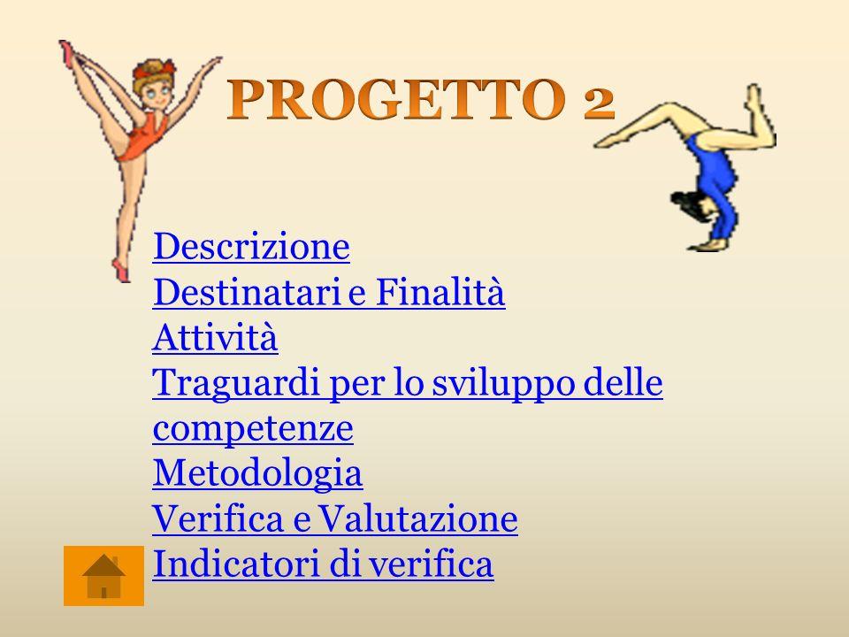 PROGETTO 2 Descrizione Destinatari e Finalità Attività