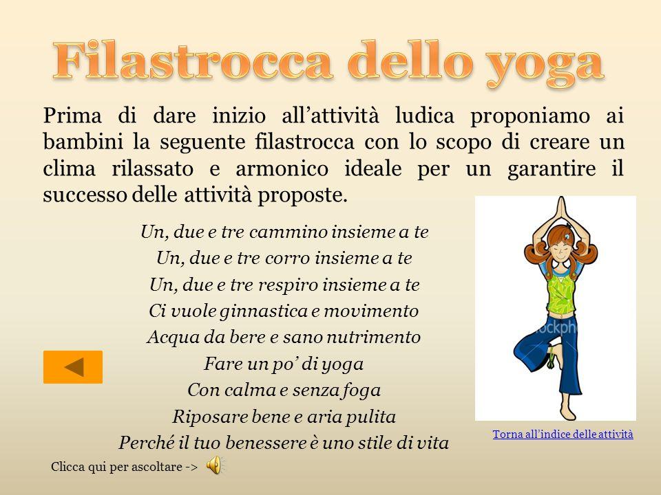 Filastrocca dello yoga