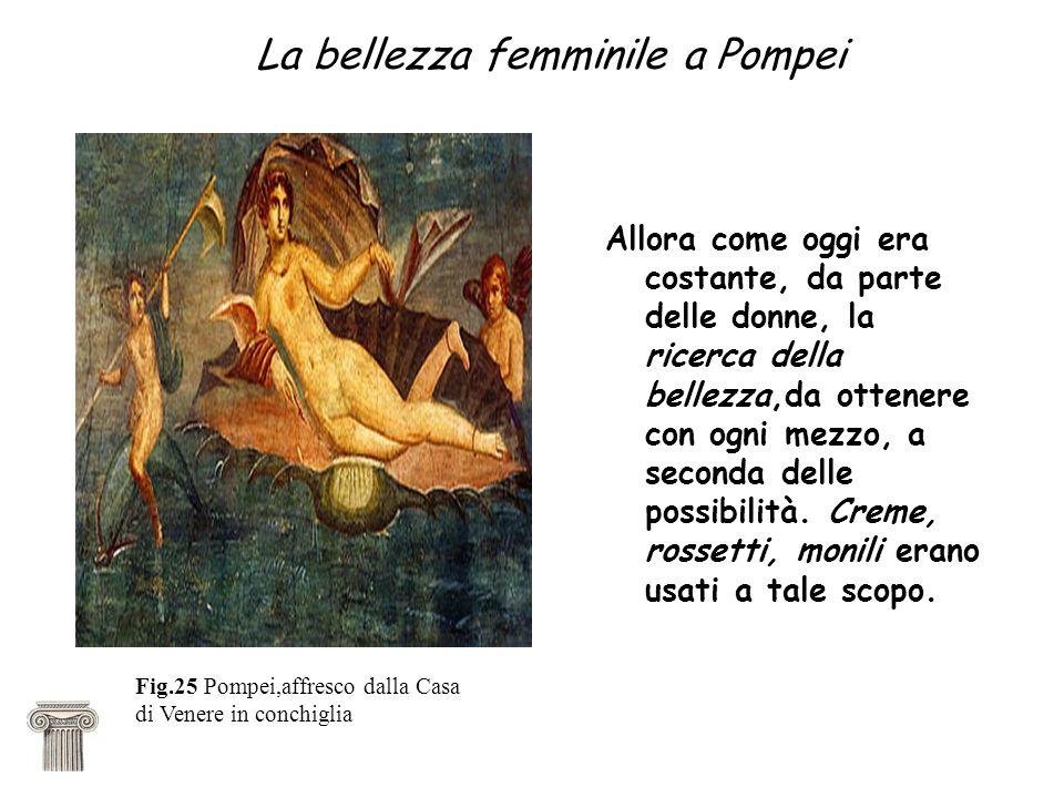 La bellezza femminile a Pompei
