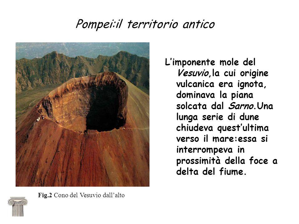 Pompei:il territorio antico