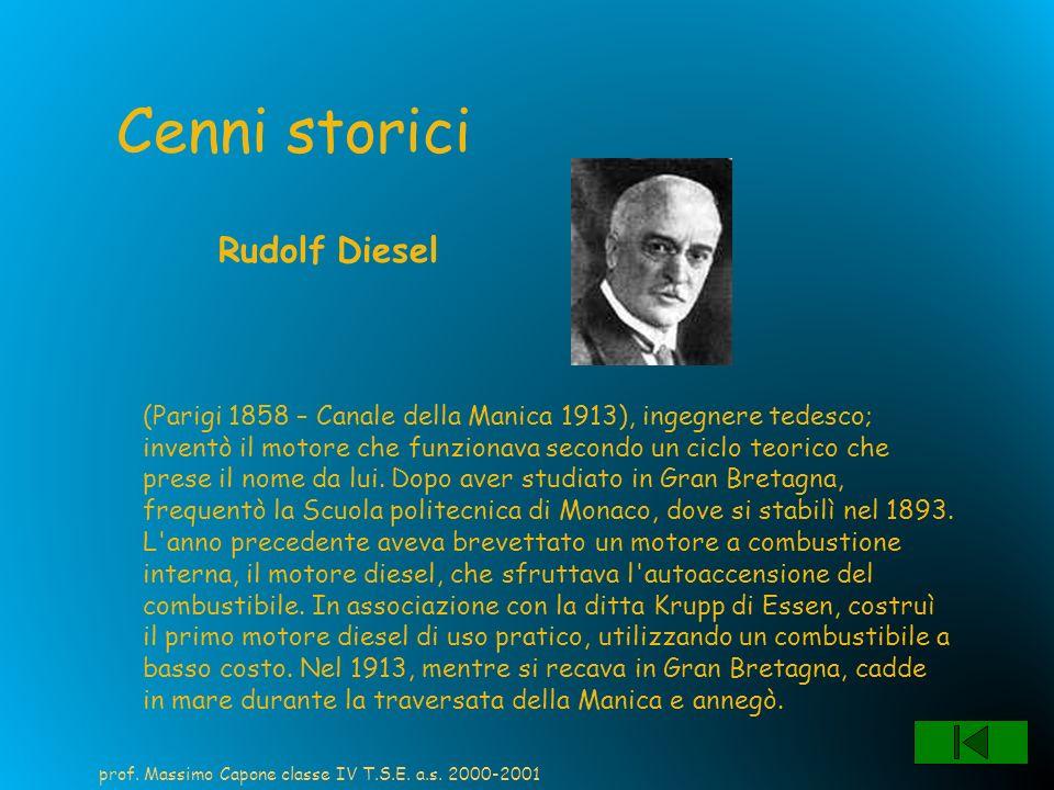 Cenni storici Rudolf Diesel