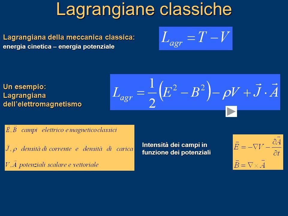 Lagrangiane classiche