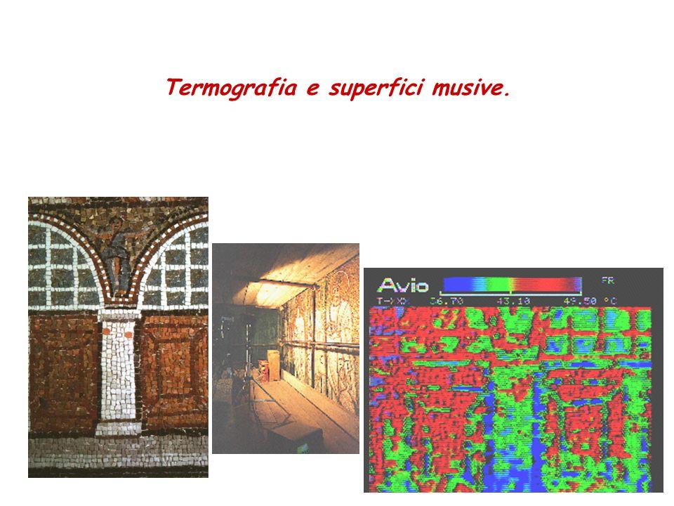Termografia e superfici musive.
