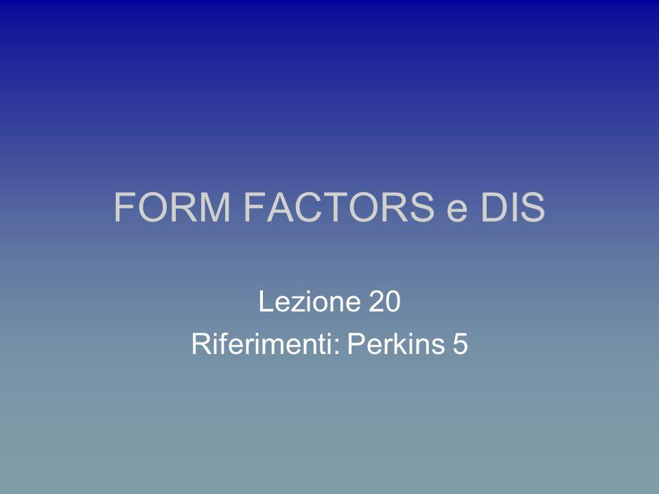 Lezione 20 Riferimenti: Perkins 5