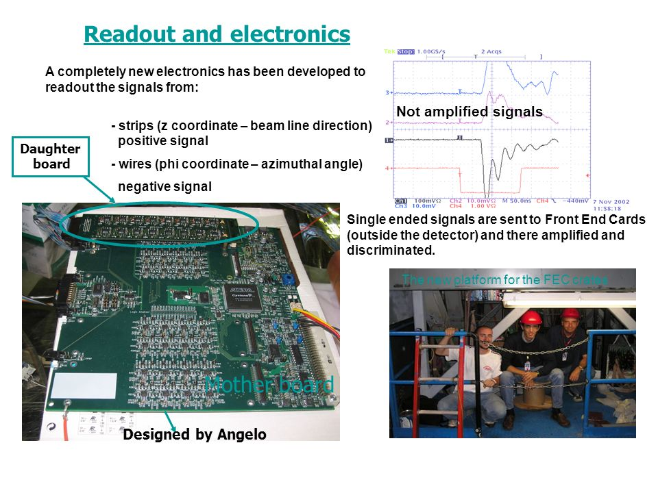 Readout and electronics