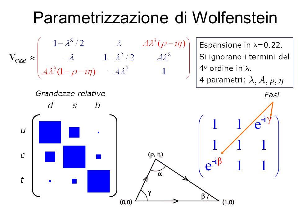Parametrizzazione di Wolfenstein