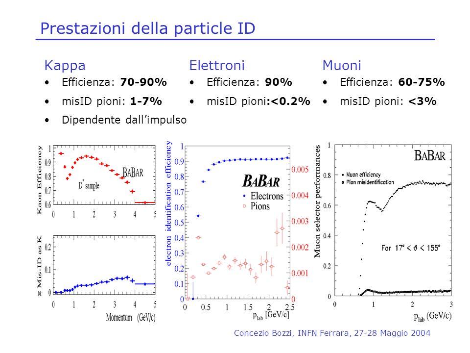 Prestazioni della particle ID