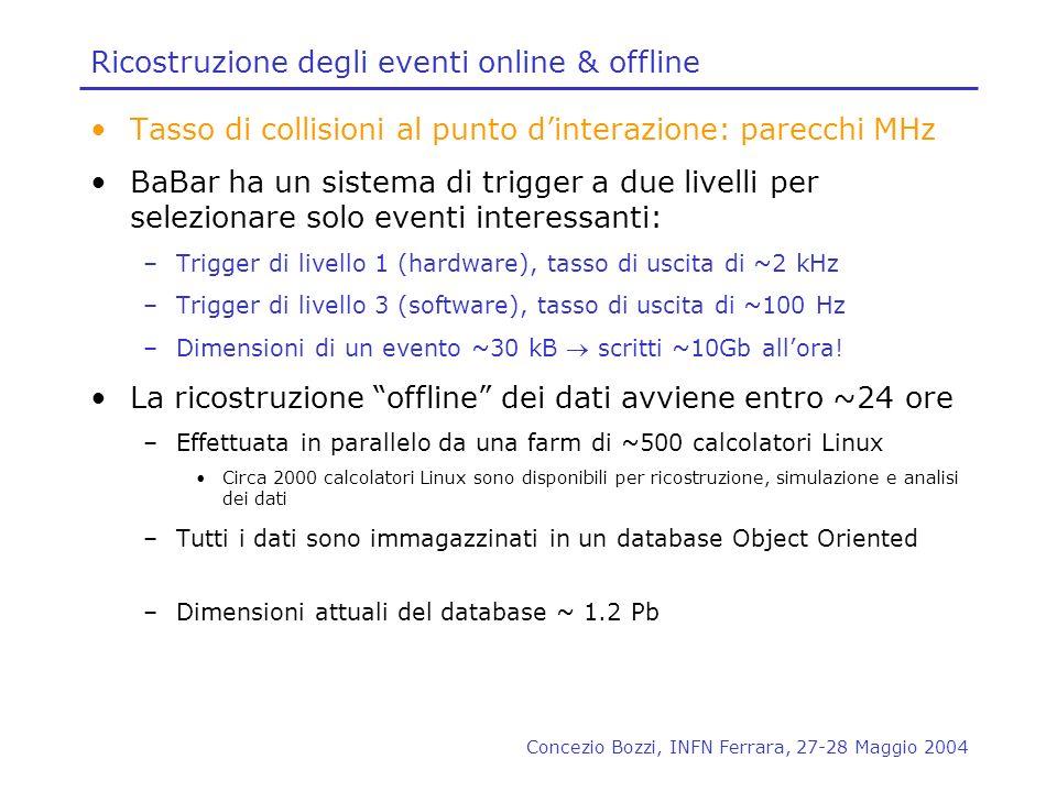 Ricostruzione degli eventi online & offline