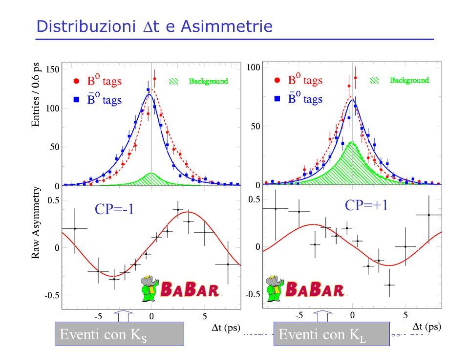 Distribuzioni Dt e Asimmetrie