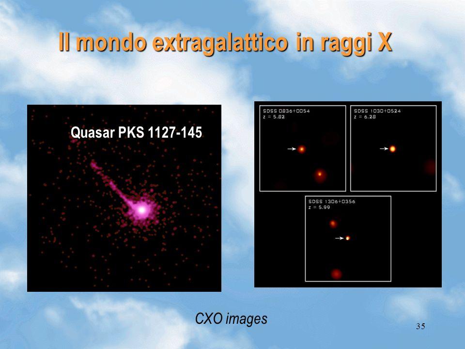 Il mondo extragalattico in raggi X