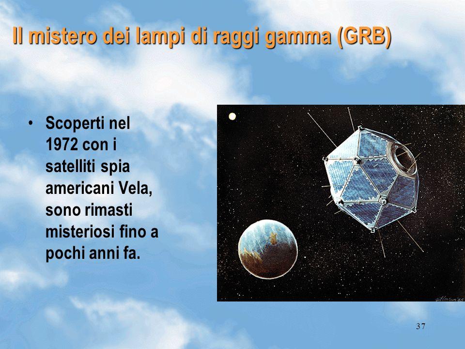 Il mistero dei lampi di raggi gamma (GRB)