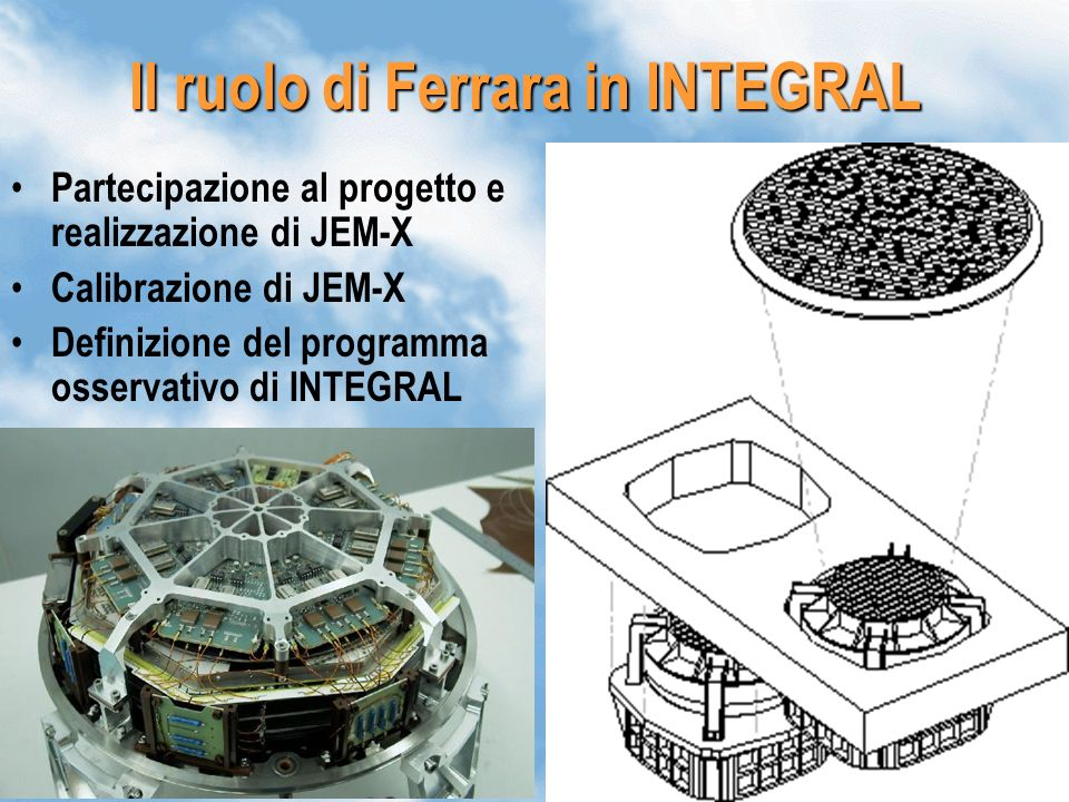 Il ruolo di Ferrara in INTEGRAL