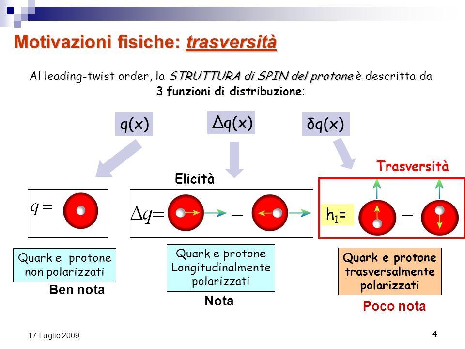 3 funzioni di distribuzione:
