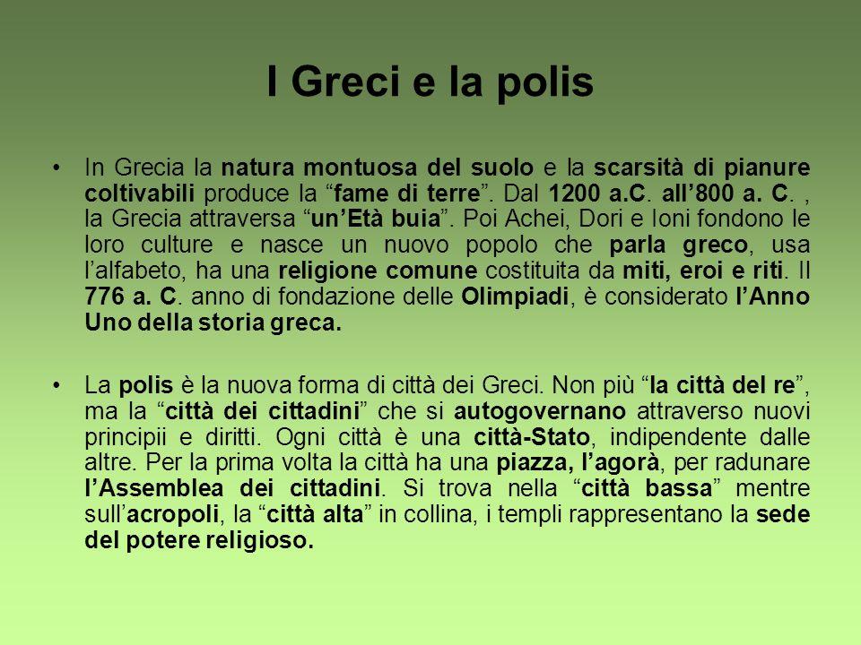 I Greci e la polis