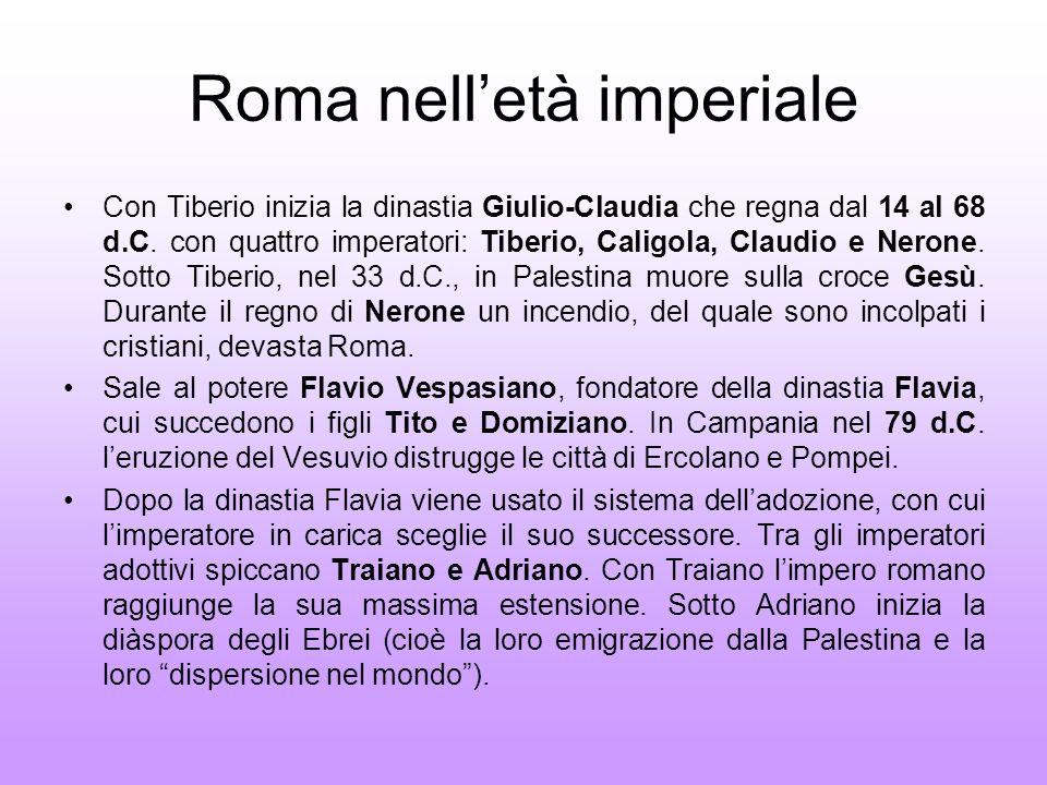 Roma nell'età imperiale