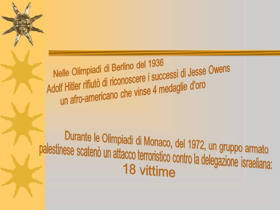 Nelle Olimpiadi di Berlino del 1936